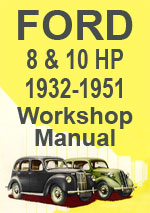 Ford 8-10HP Models 1932-1951 Workshop Manual