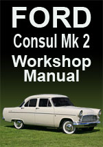 Ford Consul Mark 2 Workshop Manual