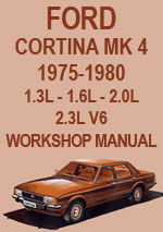 Ford Cortina MK 4 1975-1980 Workshop Repair Manual