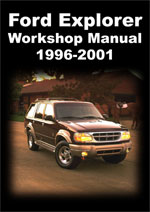 ford explorer 1996 2001 workshop repair manuals. Black Bedroom Furniture Sets. Home Design Ideas